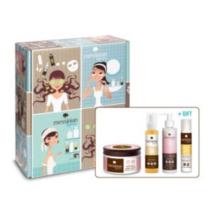 Vintage box: Life isn't perfect, but your hair can be! Messinian Spa