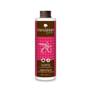 Shampoo melograno e uva Messinian Spa
