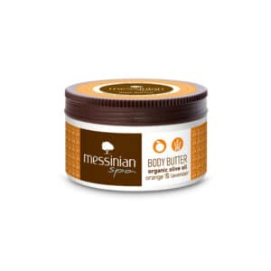 Burro corpo arancia e lavanda 250 ml. Messinian Spa