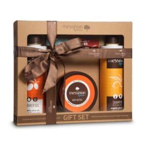 Gift Set 5 arancia e lavanda Messinian Spa