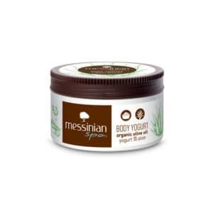 Yogurt corpo yogurt e aloe 250 ml. Messinian Spa