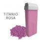 Rullo cera biossido di titanio rosa 100 ml. CER421 Ro.ial. depilazione monouso