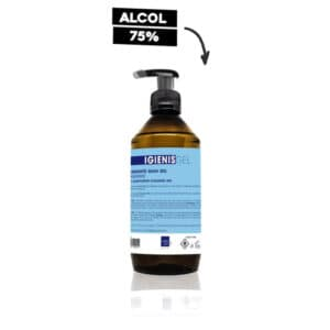 Igienis geligienizzante mani 500 ml. con dosatore LB092 Labor Pro igiene