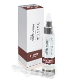 Colore semipermanente Henna Color Plus a base di henné 10 gr. Blend 1 Mogano Pro Brow Nails e Beauty SRL PB00106