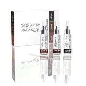 Kit 3 polveri colori semipermanenti sopracciglia BLEND Pro Brow NAILS E BEAUTY SRL PB00123